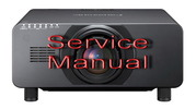 Thumbnail Panasonic  PT-DZ21 Service Manual